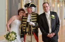 Hochzeit von Tobias und Nicole im reizvollen Ambiente und historischer Begleitung