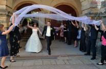 Hochzeit von Tobias und Nicole im historischen Ambiente von Schloss Friedenstein