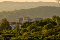 Gotha, die Herzog Ernst Gesamtschule  im Licht der Morgensonne