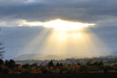 Morgenstimmung, aus Richtung Krahnberg fotografiert